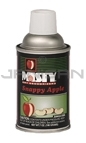 Amrep Misty Premium Metered Air Freshener - 7 oz. can - 1 case of 12 cans - Snappy Apple