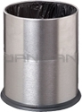 "Imprezza WBWSSS2 Concealed Waste Bag Wastebasket - 3.5 Gallon Capacity - 9.5"" Dia. x 12.5"" H - Stainless Steel"