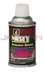 Amrep Misty Premium Metered Air Freshener - 7 oz. can - 1 case of 12 cans - Summer Breeze