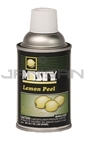 Amrep Misty Premium Metered Air Freshener - 7 oz. can - 1 case of 12 cans - Lemon Peel