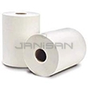 "EnviroPaper Recycled White Roll Towels- 8"" Roll- 800 Feet Per Roll - 6 Rolls Per Case"
